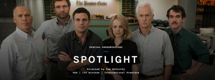 'Spotlight' castiga Gotham Award : candidat la Oscar?