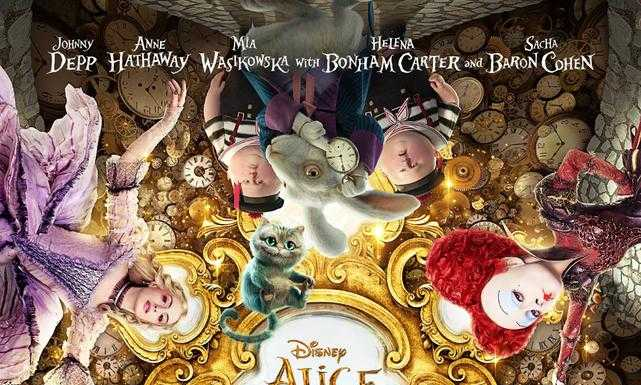 Trailerul Alice Through The Looking Glass