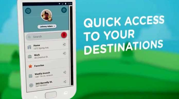 Aplicatia de navigatie Waze
